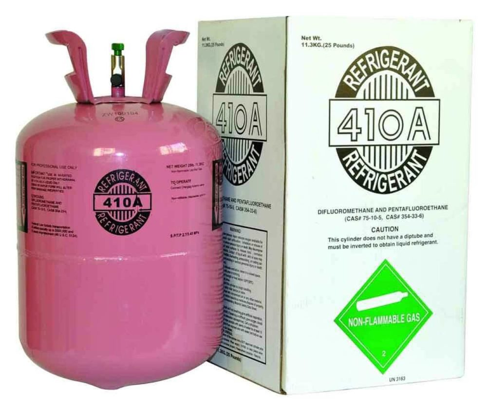 Pure Freon Refrigerant for HVAC applications.